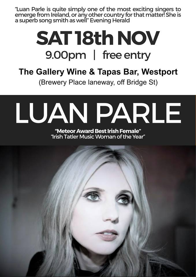 Luan Parle - Gallery Wine & Tapas Bar Westport